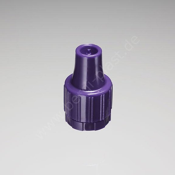 Screw cap Child proof M15 with dropper insert